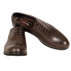 Men's Classic Lace-up Leather Lace 19330 Brown