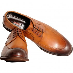 Big-Tall Men s Shoes Lace Up Leather 3102 Tan